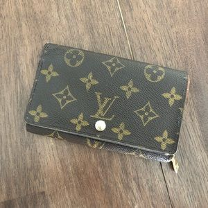 Louis Vuitton Wallet Port Monnaie Monogram Wallet
